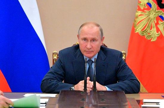 Путин в Москве принимает верительные грамоты у послов иностранных государств