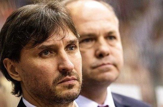 Хоккейный клуб «Трактор» уволил главного тренера