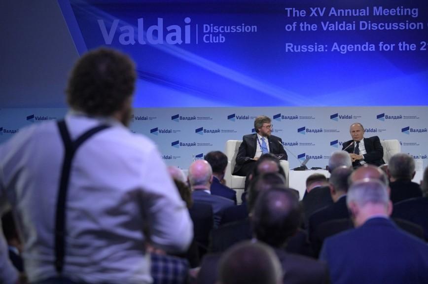 Путин рассказал о съедающей все его вкусные подарки охране
