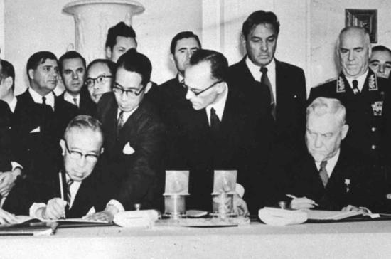 19 октября исполняется 62 года со дня подписания советско-японской декларации о прекращении войны