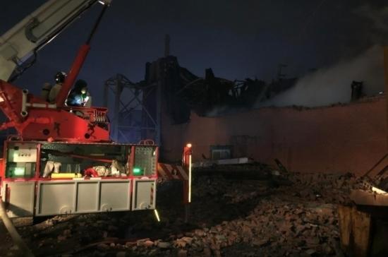 Пожар на заводе «Электроцинк» во Владикавказе локализован