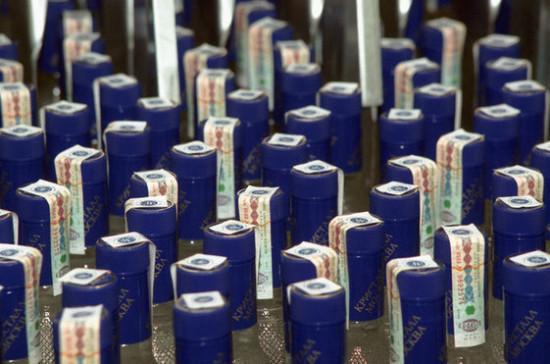 Продажи водки в России выросли почти на 10%
