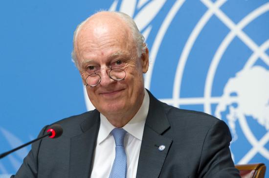 Де Мистура рассказал о конструктивной дискуссии на саммите в Стамбуле
