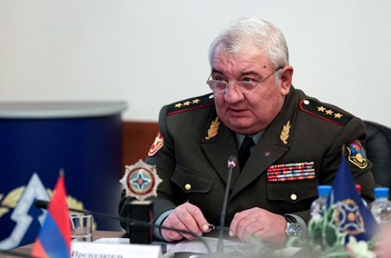 Юрий Хачатуров освобождён от должности генсека ОДКБ