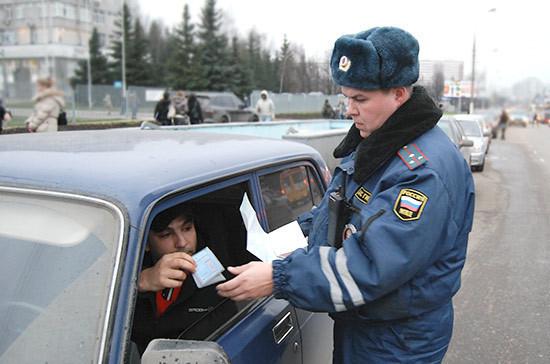 В ГИБДД предложили увеличить штрафы за езду без прав