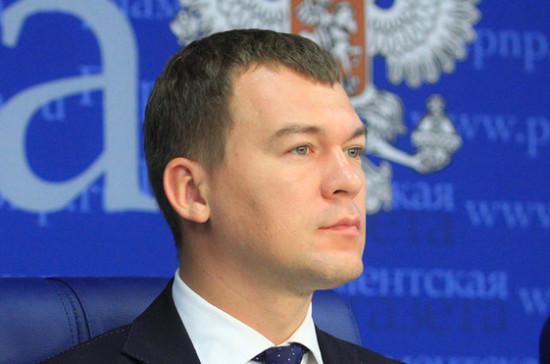 Дегтярев предложил меры по поддержке российских производителей спортивного оборудования