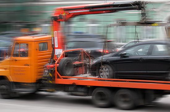 За незаконное удержание автомобиля на штафстоянке могут ввести административную ответственность