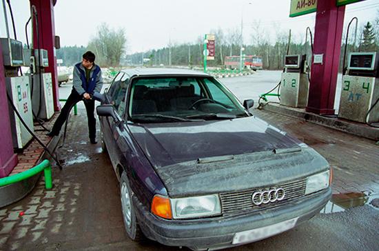 Росстат рассказал о росте цен на бензин за неделю