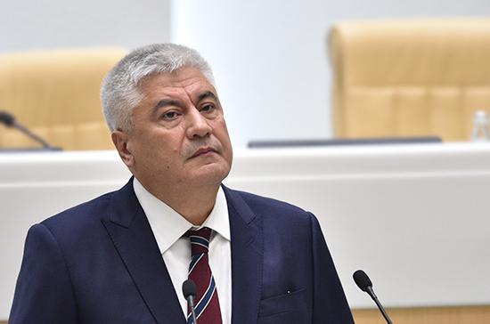 Колокольцев: в 2018 году из МВД уволили 300 человек после жалоб граждан