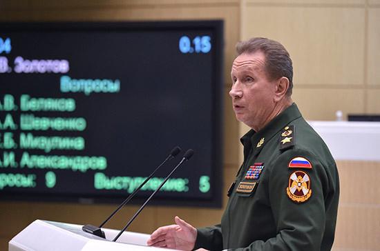 Золотов поздравил коллег с Днём сотрудника органов внутренних дел России