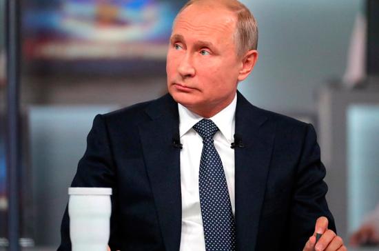 Путин рассчитывает на восстановление переговоров по ДРСМД