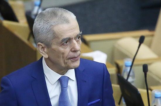 Онищенко поддержал предложение о частичном запрете алкоголя в барах