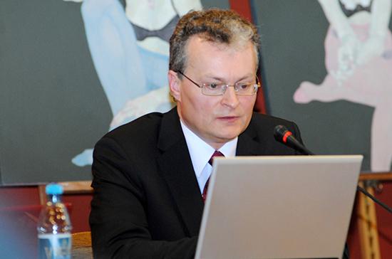 Гитанас Науседа назвал страну, которую посетит первой в случае избрания президентом Литвы