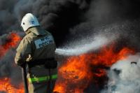 В Москве на нефтеперерабатывающем заводе в Капотне произошел пожар