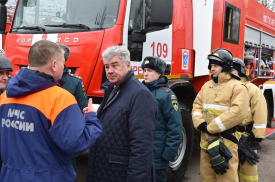 В Совете Федерации поддерживают возвращение противопожарного контроля к МЧС России