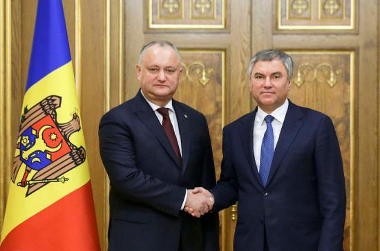 Россия и Молдавия будут сотрудничать в уникальном формате
