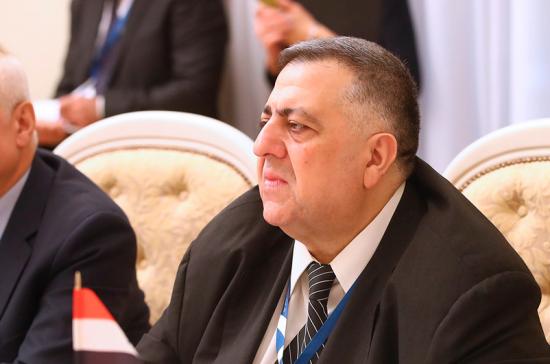 Спикер парламента Сирии встретился с послом Белоруссии