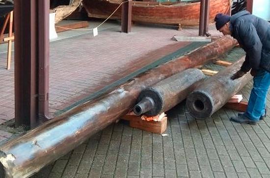 В Калининграде обнаружили старинные водопроводные трубы