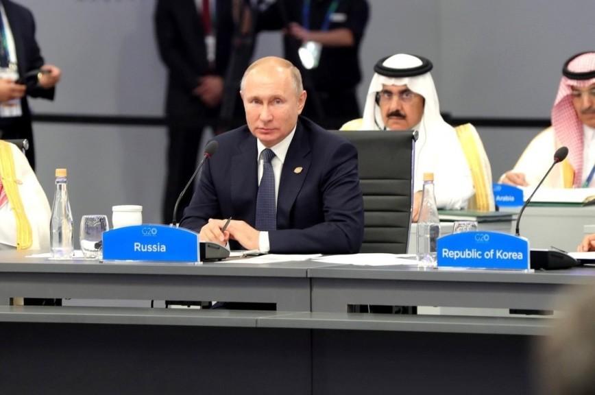 Путин призвал мировых лидеров реформировать ВТО