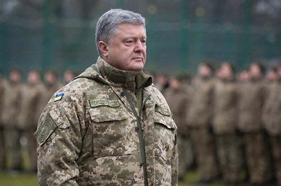 Порошенко заявил о передислокации подразделений к границе с Россией