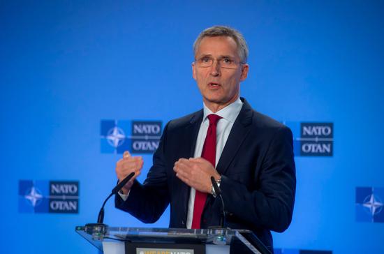 Столтенберг заявил о необходимости политического диалога между Россией и НАТО