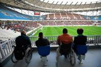 Спортивные объекты станут доступнее для инвалидов