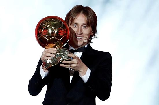 Футболист Лука Модрич получил награду «Золотой мяч»