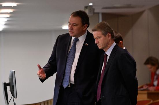 Толстой возглавит неформальную рабочую группу между Госдумой и Европарламентом