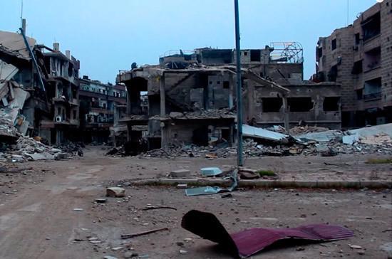 Коалиция во главе с США нанесла авиаудар по Сирии