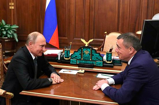 Путин назначил Валерия Лимаренко врио главы Сахалинской области