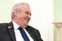 Президент Земан назвал чешских контрразведчиков клоунами