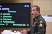 Золотов поздравил героев России, проходящих службу в Росгвардии