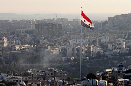 СМИ: на западе Сирии прошла выставка предприятий