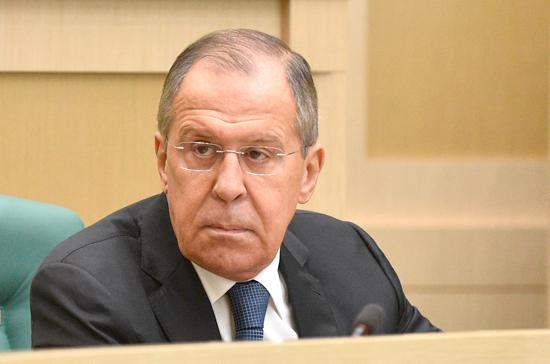 Лавров: Россия выступает за сохранение ДРСМД