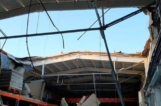 Последствия обрушения в подмосковном Дзержинском сняли на видео