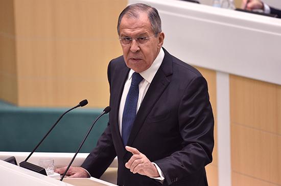 Россия не отказывается от диалога с США, заявил Лавров