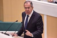 Лавров: Россия ответит Украине в случае провокации на границе с Крымом