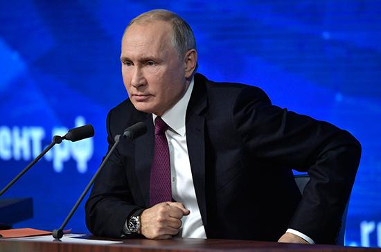 Путин ответил на обвинения в стремлении России управлять миром