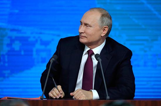 Главными событиями 2018 года для Путина стали выборы президента и ЧМ