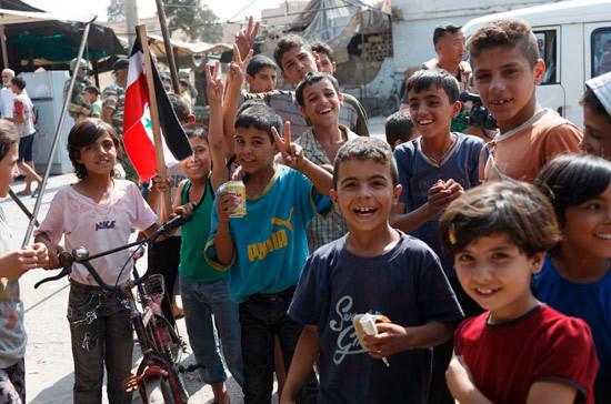 СМИ: сирийские школьники начали изучать русский язык