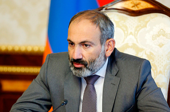 Пашинян надеется на успешные переговоры с Россией по тарифам на газ для Армении