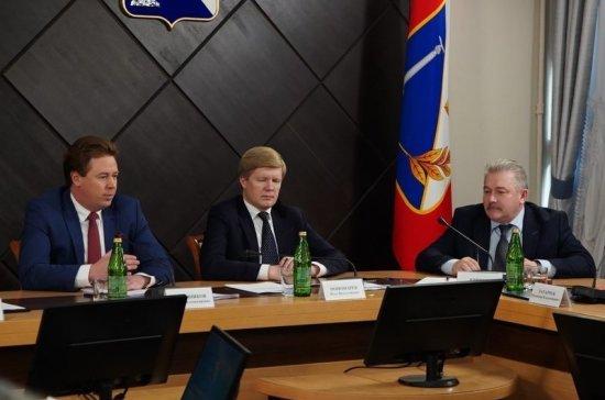Вице-губернатор Севастополя Юрий Кривов подал в отставку