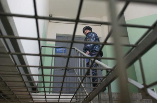 В Совфеде предложили ограничить срок содержания под стражей в ходе следствия