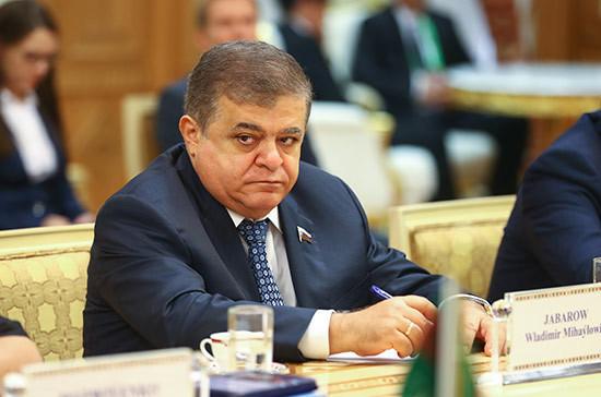 Джабаров рассказал о развитии российско-китайского стратегического партнёрства