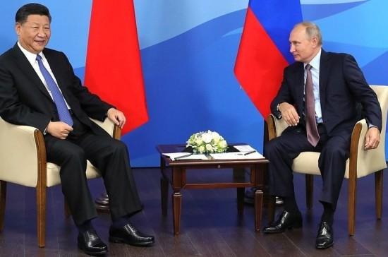 Путин и Си Цзиньпин обменяются визитами в 2019 году