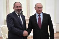 Путин выразил надежду на продолжение роста товарооборота между Россией и Арменией