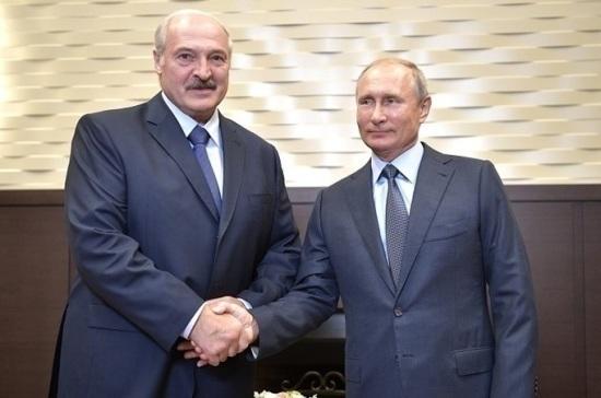 Путин и Лукашенко 29 декабря обсудят вопросы финансов и интеграции