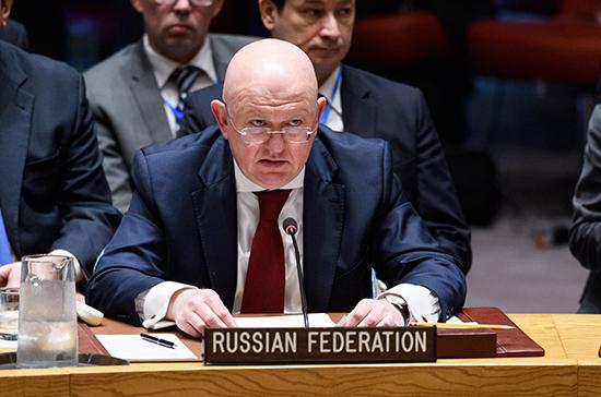 Небензя назвал вывод американских войск из Сирии шагом в правильном направлении