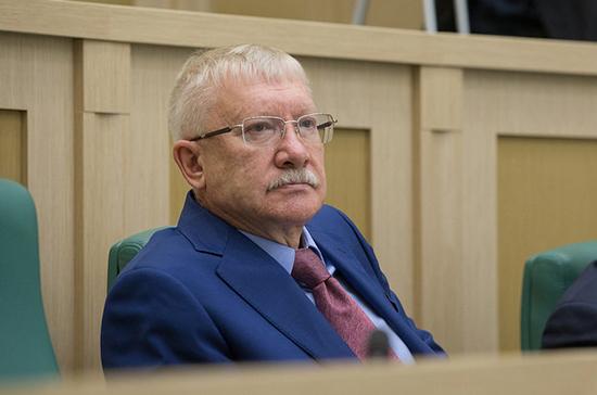 Запрет импорта в Россию ряда товаров нанесёт удар по экономике Украины, считает сенатор