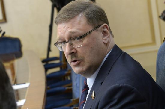 Косачев объяснил, зачем Россия запретила ряд украинских товаров